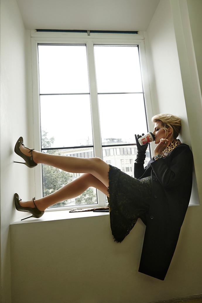 Рената Литвинова в проекте Buro 24/7 x Gucci