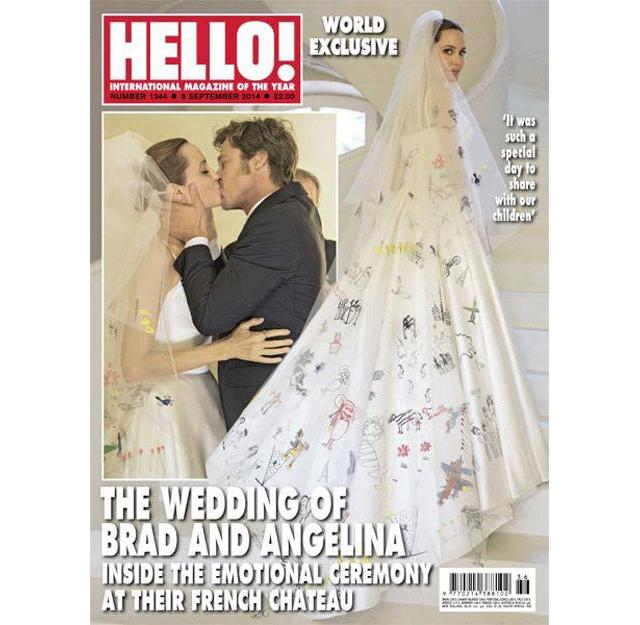 Журнал People опубликовал снимки со свадьбы Анджелины Джоли (фото 1)