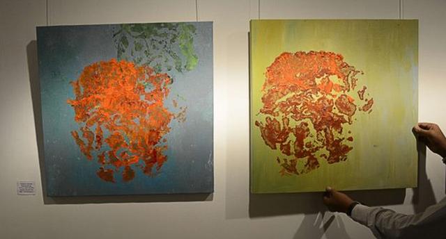 Слониха стала художником-абстракционистом (фото 1)