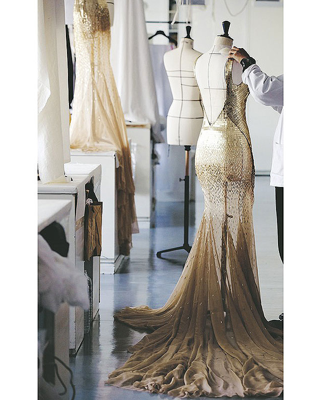 Золотая Шарлиз: рекламная компании J'Adore от Dior (фото 2)
