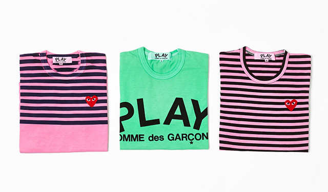 Специальная коллекция Comme des Garçons PLAY для Dover Street Market (фото 1)