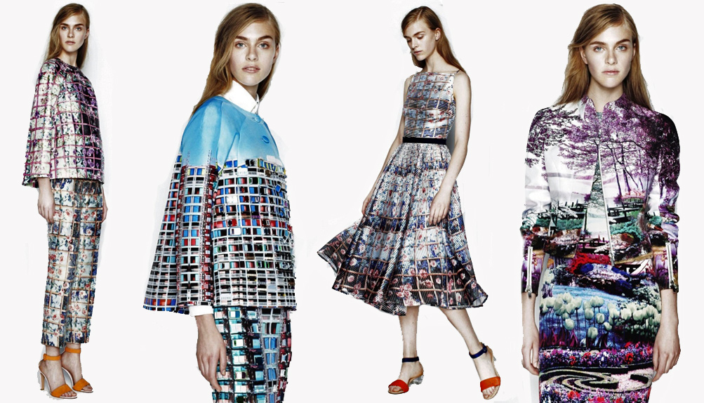 Коллекция Mary Katrantzou resort 2014