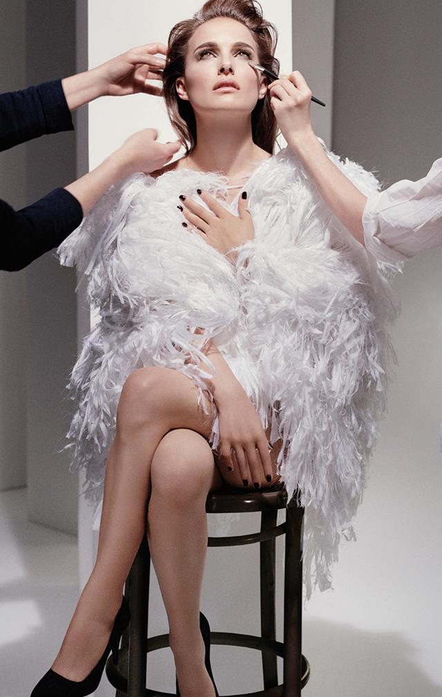 Natalie Portman è diventata il volto delle risorse tonali Dior (foto 1)