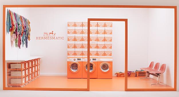 Hermès откроет поп-ап-прачечные (фото 1)