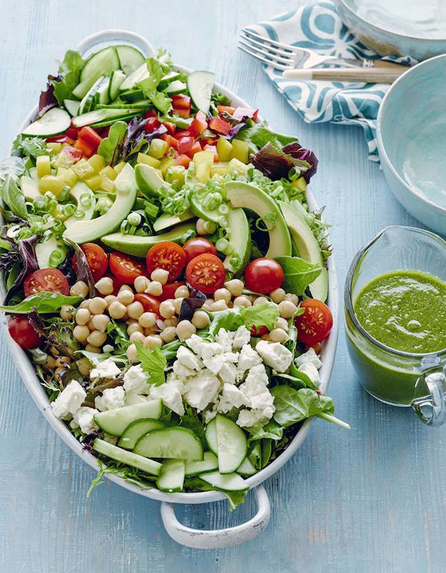 Диета полезные салаты