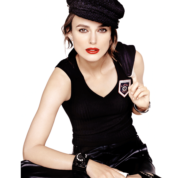 Keira Knightley - a person who updated lipsticks Chanel (photo 1)