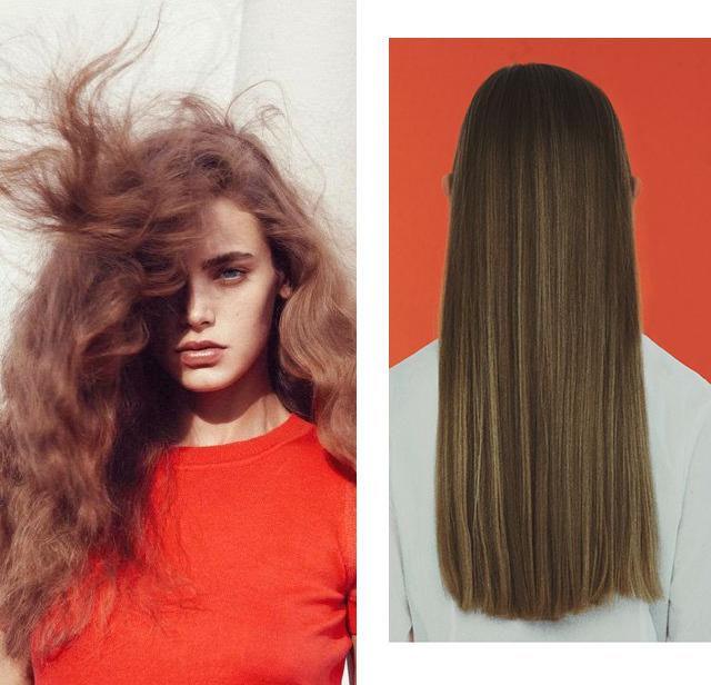 Как изменить структуру волос с кудрявых на прямые