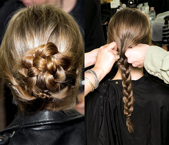 Тенденция: сложносочиненные косы (фото 1)