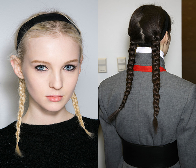 Тенденция: сложносочиненные косы (фото 2)