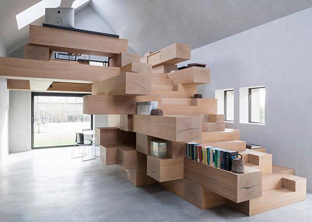 Офис в Бельгии. Дизайн-студия: Studio Farris Architects