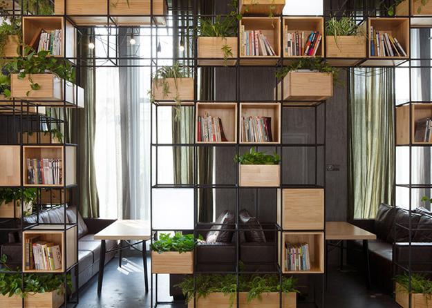 Home Cafe в Китае. Дизайн-студия: Penda