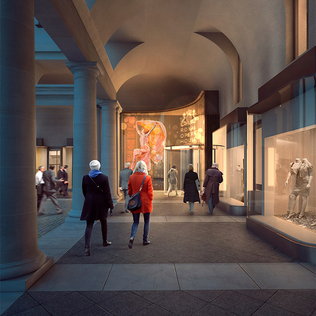 Stanton Williams will be to reconstruct the building of the London Royal Opera (photo 1)