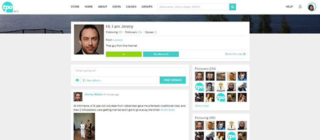 Social network for philanthropists from the creator of Wikipedia (photo 1)