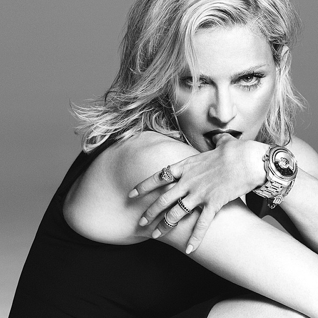 Madonna once again become the face of Versace - 20 years (photo 1)