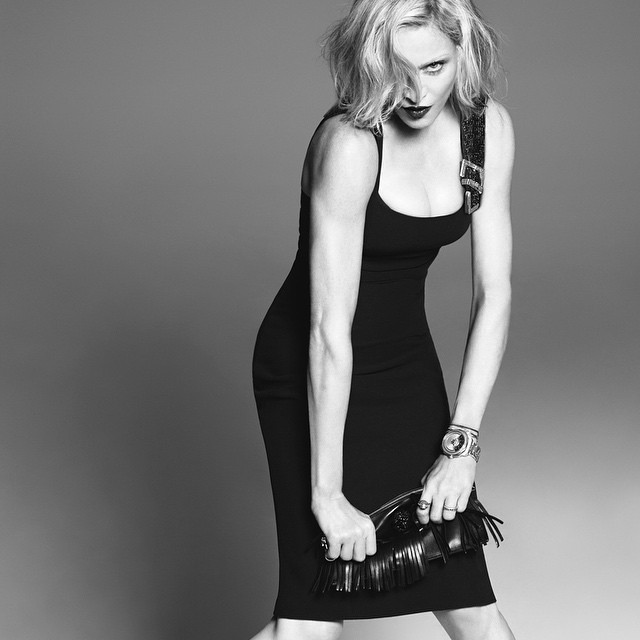 Madonna once again become the face of Versace - 20 years (photo 2)