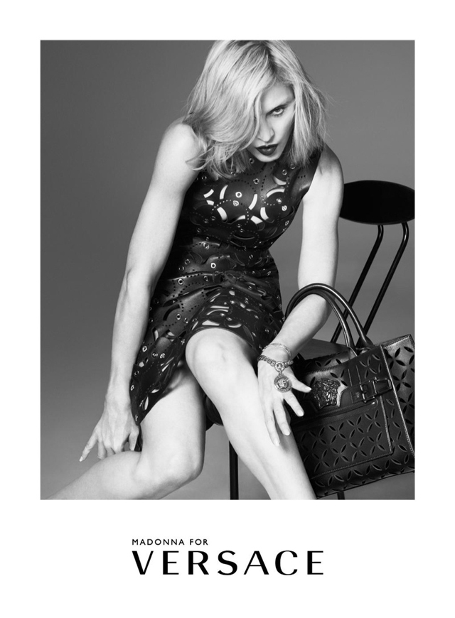Madonna once again become the face of Versace - 20 years (photo 3)