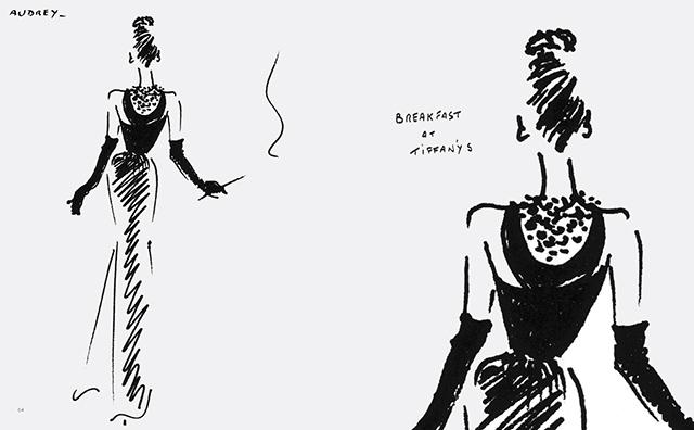 Юбер Живанши выпустит скетчбук, посвященный Одри Хепберн (фото 1)