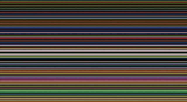Картинки по запросу картина «Strip», 2013 герхард рихтер