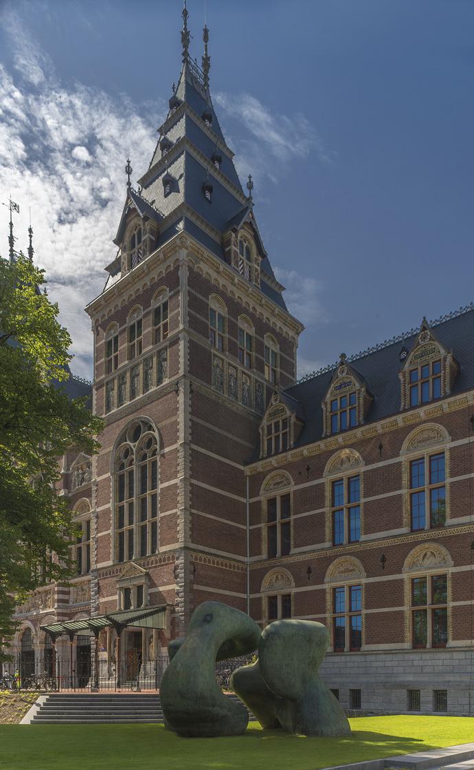 Выставка Генри Мура открылась в Амстердаме (фото 5)