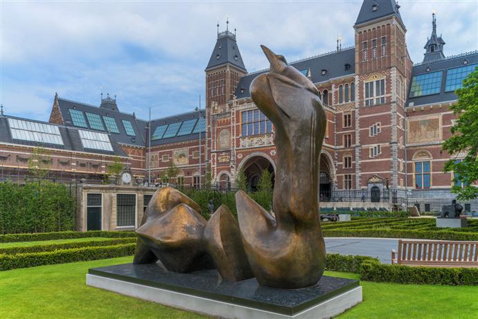 Выставка Генри Мура открылась в Амстердаме (фото 2)