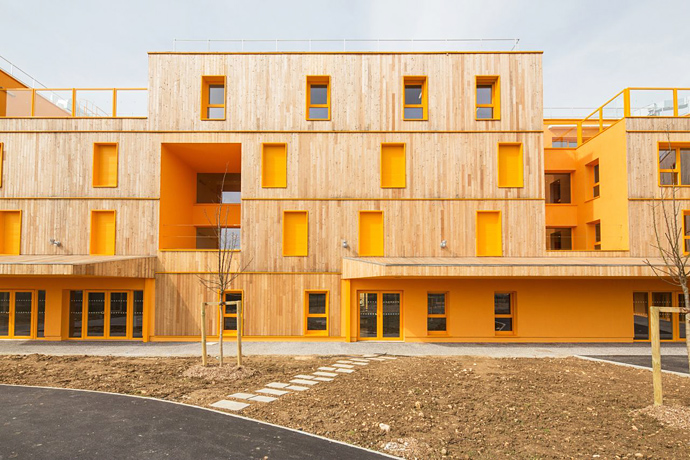 Дома престарелых архитектура куда можно определить лежачего больного для ухода бесплатно