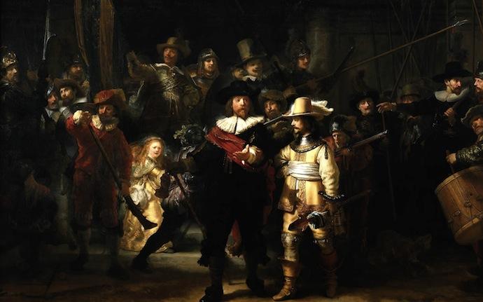 """Рембрандт ван Рейн. """"Ночной дозор"""""""