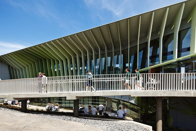 woods bagot: KIOSC green school in victoria, australia