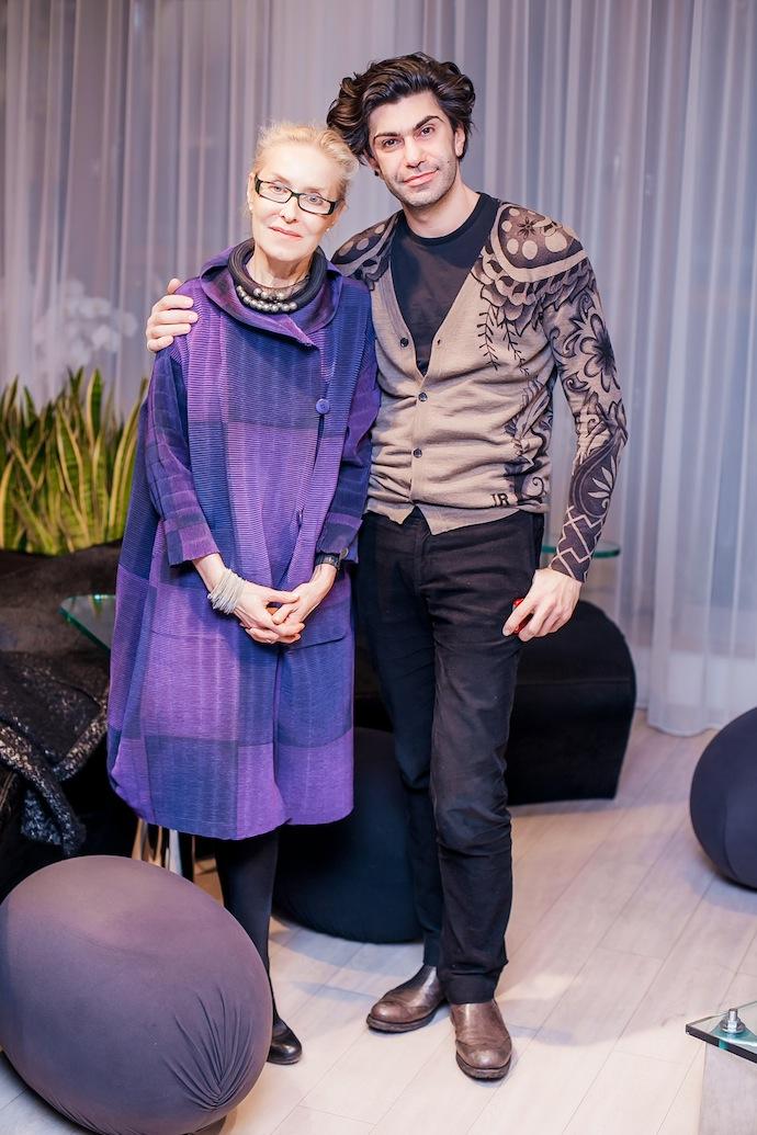 Ольга Свиблова и Николай Цискаридзе