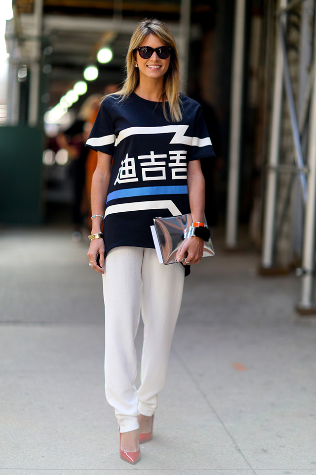 Fashion Week di New York / S 2015 S: street style.  Parte II (foto 1)