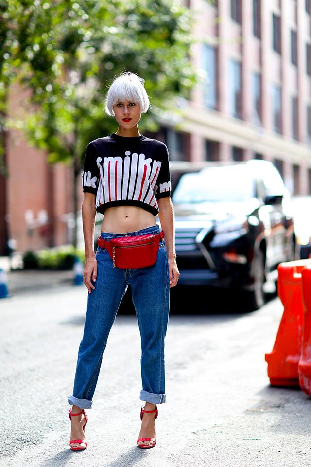 Fashion Week di New York / S 2015 S: street style.  Parte II (foto 3)