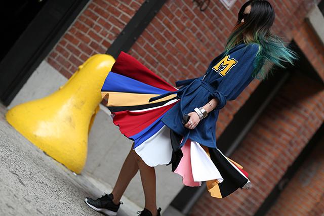 Fashion Week di New York / S 2015 S: street style.  Parte II (foto 2)