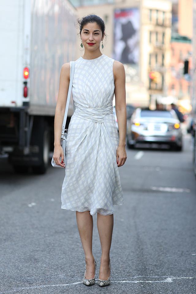 Fashion Week di New York / S 2015 S: street style.  Parte II (9 foto)