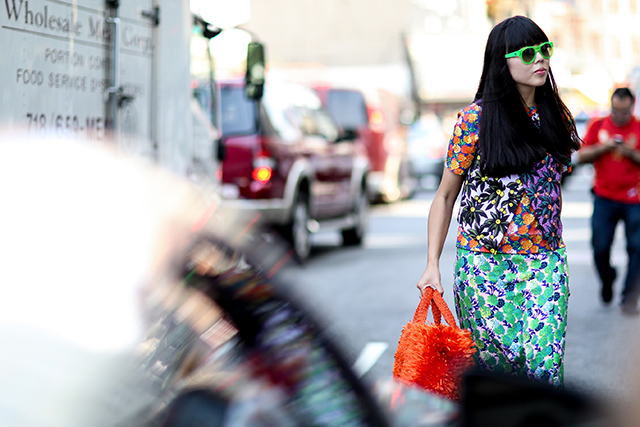 Fashion Week di New York / S 2015 S: street style.  Parte II (6 foto)