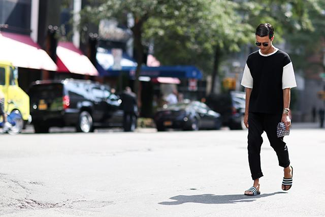 Fashion Week di New York / S 2015 S: street style.  Parte II (12 foto)