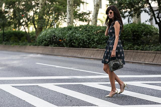 Fashion Week di New York / S 2015 S: street style.  Parte II (10 foto)