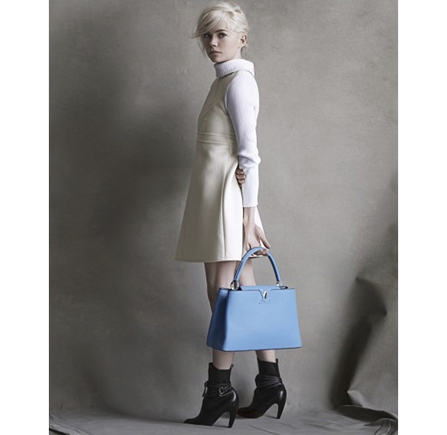 Мишель Уильямс третий сезон остается с Louis Vuitton (фото 3)
