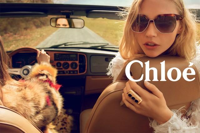 Первый взгляд: рекламная кампания Chloé, осень-зима 2014 (фото 1)