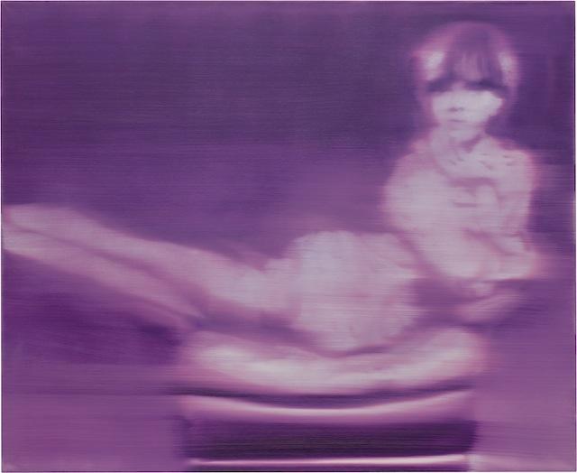 """Герхард Рихтер. """"Девушка в кресле (Лила)"""", 1964"""