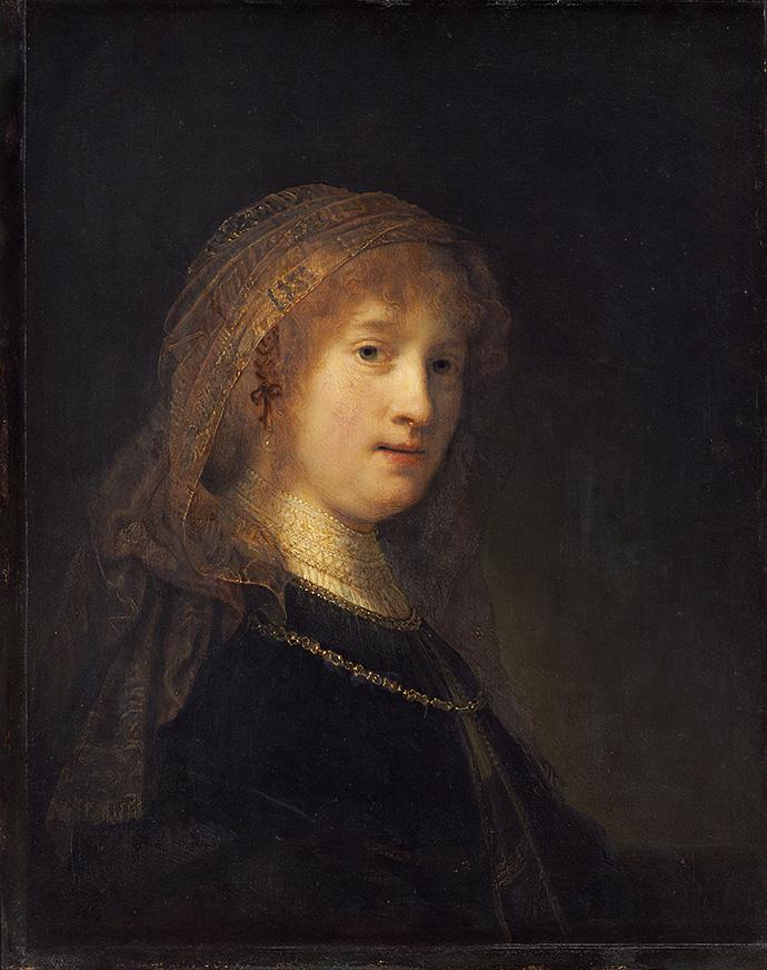"""""""Бюст молодой женщины"""" Рембрандта привезли в Голландию (фото 2)"""