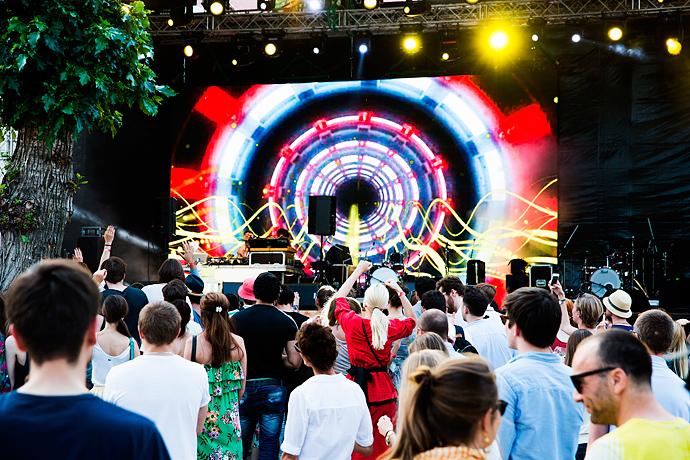 Азилия Бэнкс и Фрэнк Оушен на фестивале Art Love (фото 14)