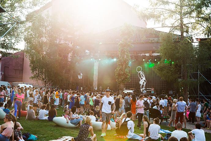 Азилия Бэнкс и Фрэнк Оушен на фестивале Art Love (фото 8)