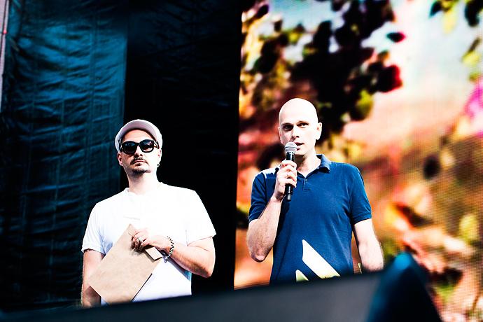 Азилия Бэнкс и Фрэнк Оушен на фестивале Art Love (фото 20)