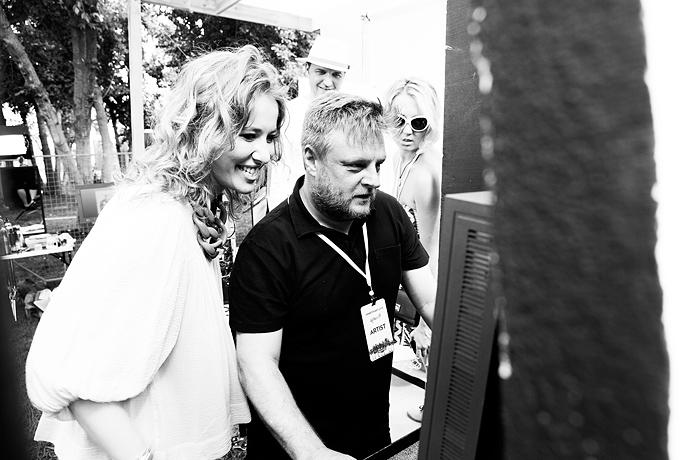 Азилия Бэнкс и Фрэнк Оушен на фестивале Art Love (фото 12)