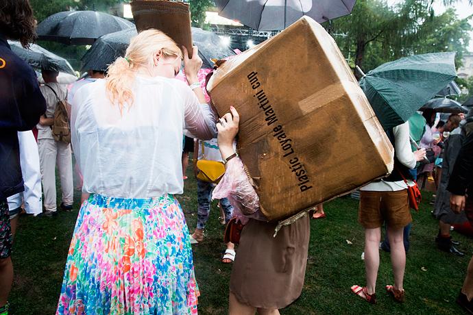 Азилия Бэнкс и Фрэнк Оушен на фестивале Art Love (фото 29)