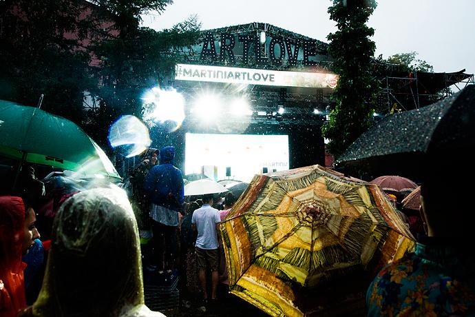 Азилия Бэнкс и Фрэнк Оушен на фестивале Art Love (фото 9)