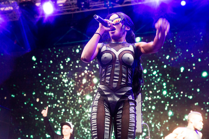 Азилия Бэнкс и Фрэнк Оушен на фестивале Art Love (фото 6)