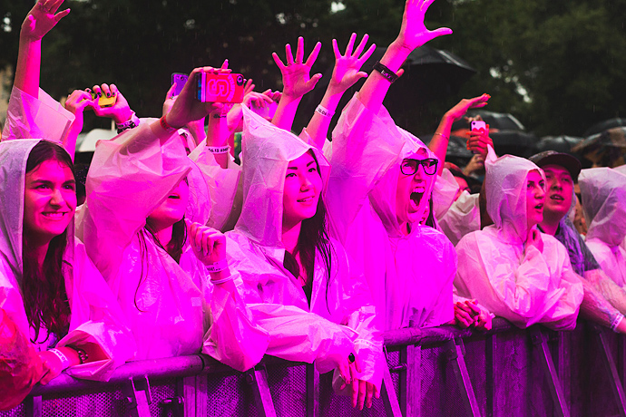 Азилия Бэнкс и Фрэнк Оушен на фестивале Art Love (фото 33)