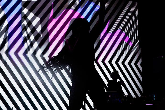 Азилия Бэнкс и Фрэнк Оушен на фестивале Art Love (фото 31)