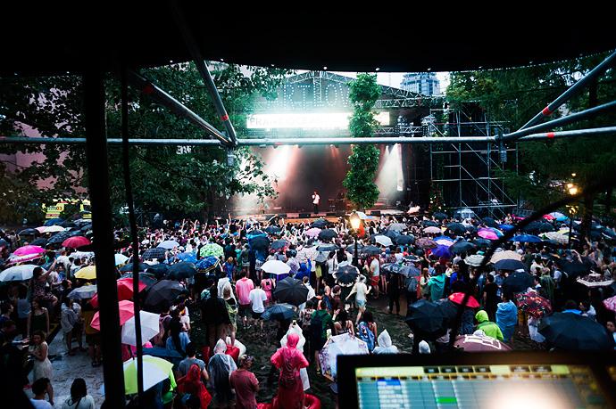Азилия Бэнкс и Фрэнк Оушен на фестивале Art Love (фото 35)