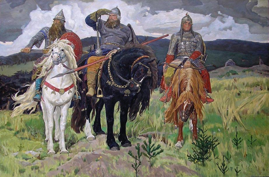 "Виктор Васнецов. ""Богатыри"", 1881-1898"
